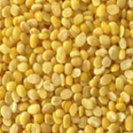 Yellow Mung beans, split